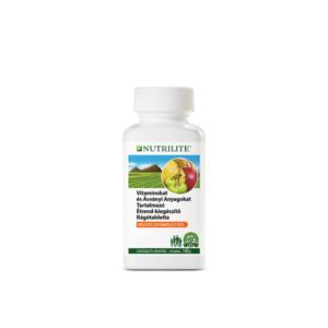Nutrilite Vitaminokat, ásványi anyagokat tartalmazó gyümölcsízű étrend-kiegészítő rágótabletta