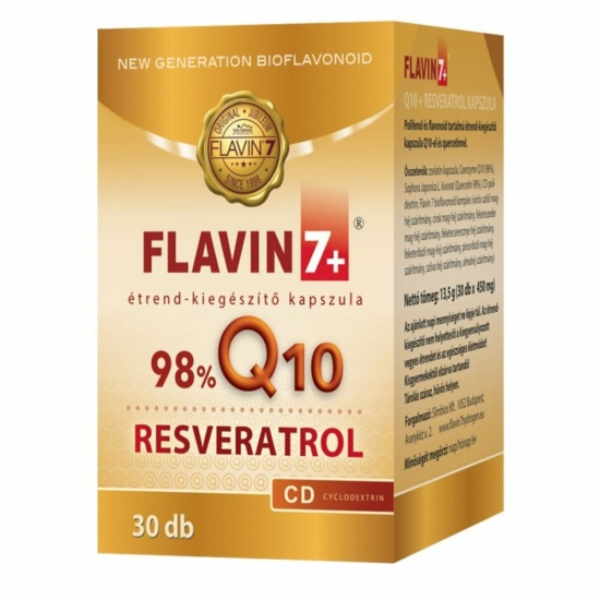 Rezveratrol Q10 30 db